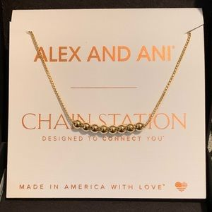NWT Alex and Ani Chain Station